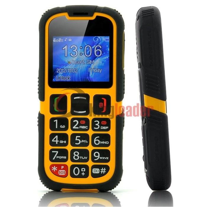 Rugged Waterproof Senior Cell Phone