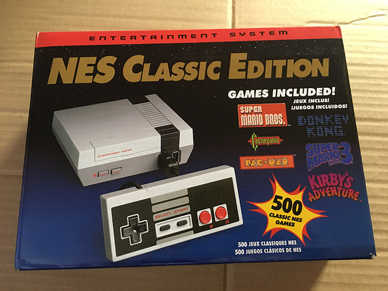 China Retro Game Nintendo Nes Classic Edition Mini Console 500 Video