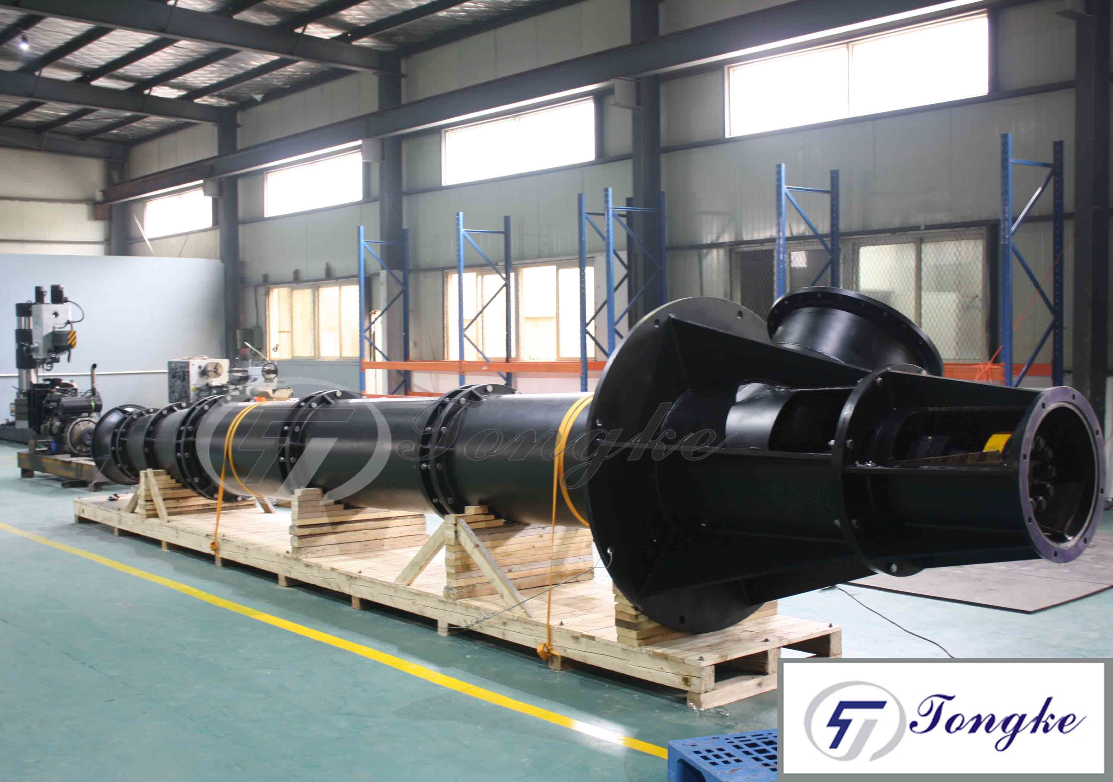 China Long Shaft Vertical Turbine Pump for Seawater Desalination