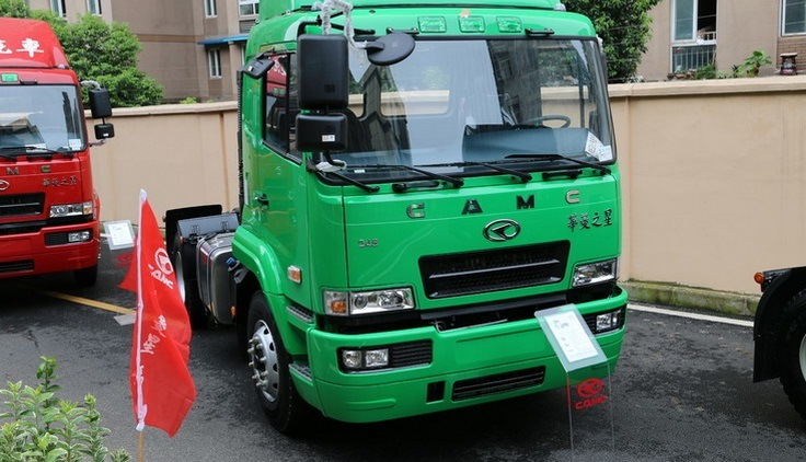 [Hot Item] Camc 4*2 Horse Tractor Truck with Cummins Engine 340 HP