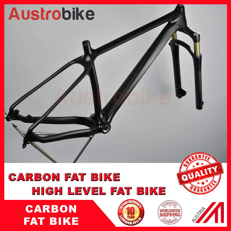 China Carbon Fatbike Frame 26er Fit 4.8/5.0 Tyre Bike Snow Bike ...