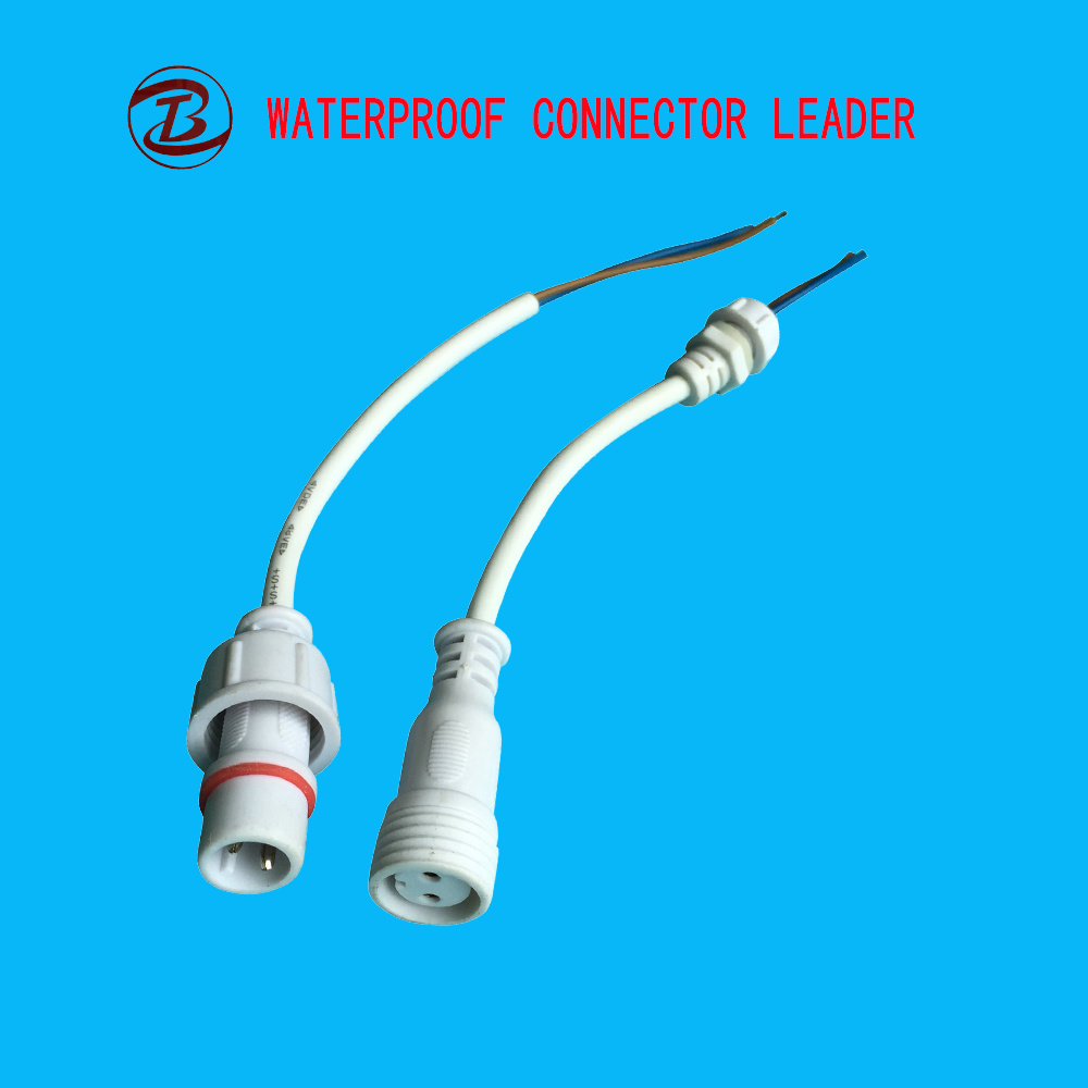 China Long History Manufacture And Supplier Waterproof Connector 2 Of Electrical Wiring Pin 2pin