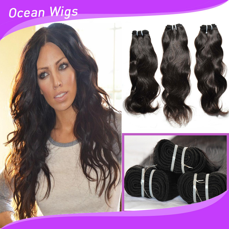 Best Quality Natural Wave Virgin Human Hair (W-065) pictures & photos
