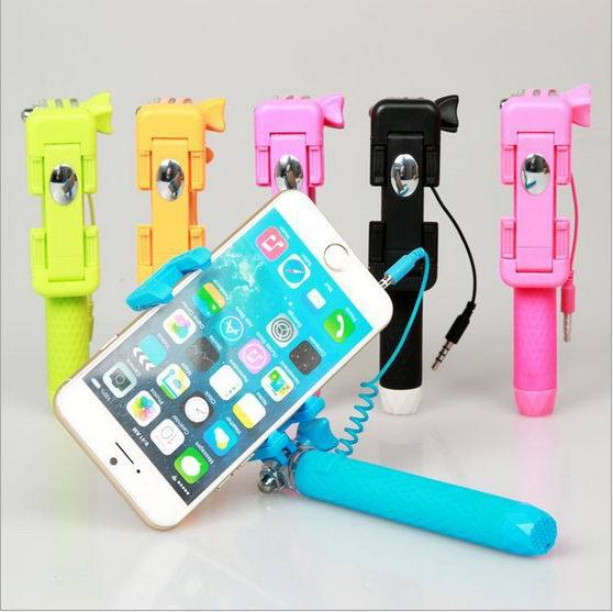 China Super Mini Pen Size Bluetooth Wired Selfie Stick Handheld ...