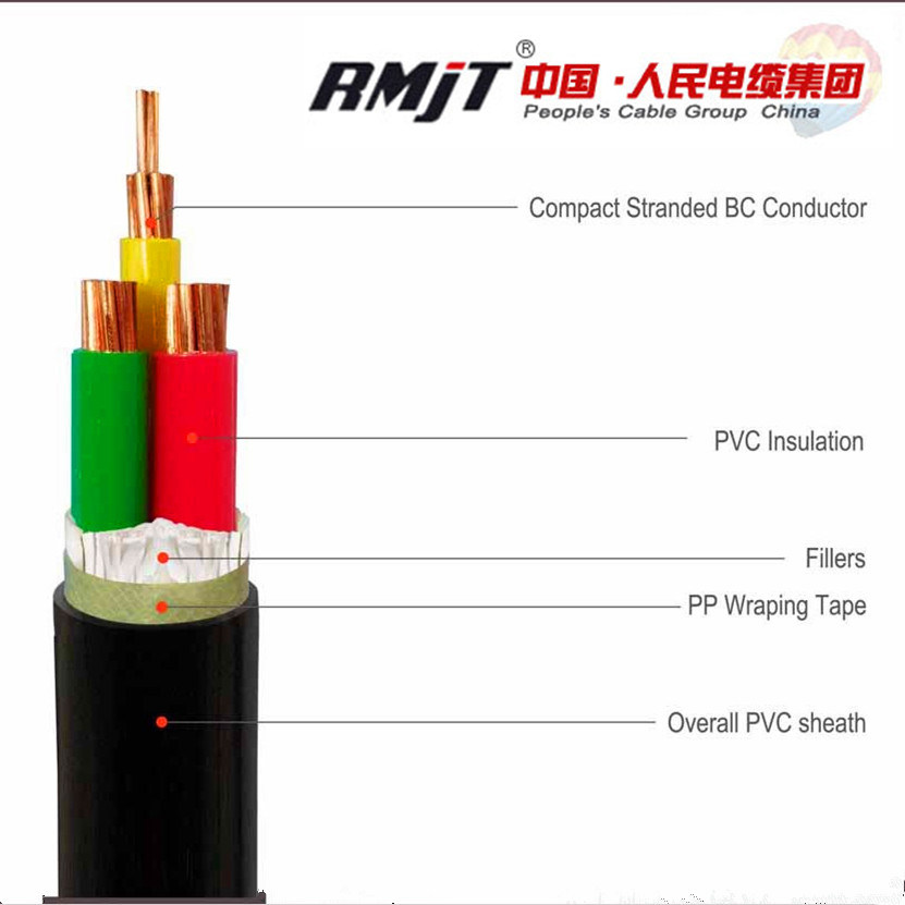 China Power Cable with XLPE Insulated and XLPE Sheathed Copper ...