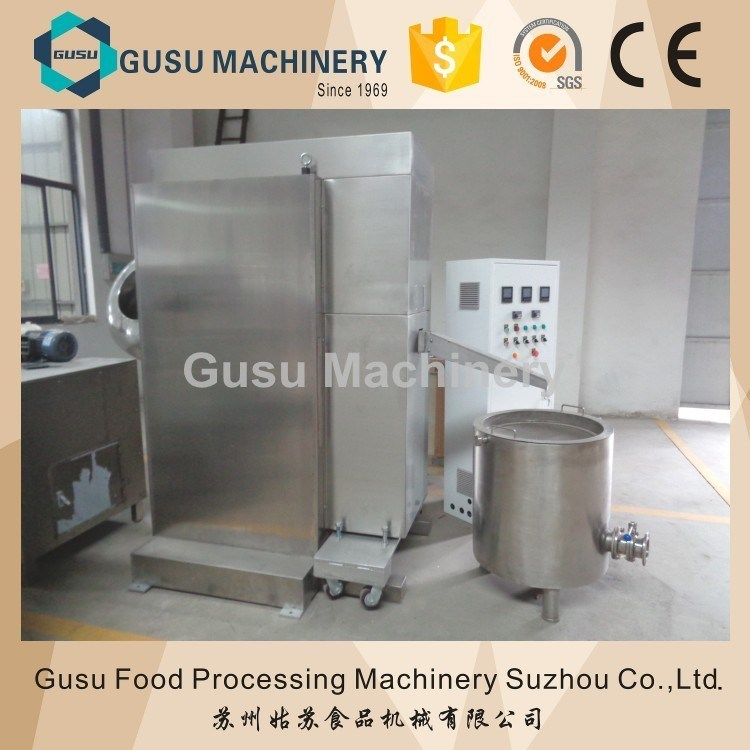 Ce Snack Food Certified High Efficient Commercial Chocolate Ball Mill Machine
