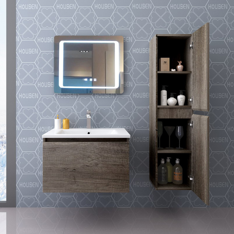 China Bathroom Cabinet Set With Wooden Frame Mirror Photos Pictures Made In China Com