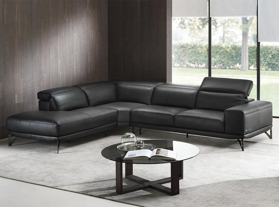 European Style Black And White Sofa