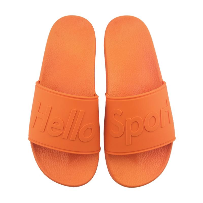 Custom PVC Rubber Slippers Made in