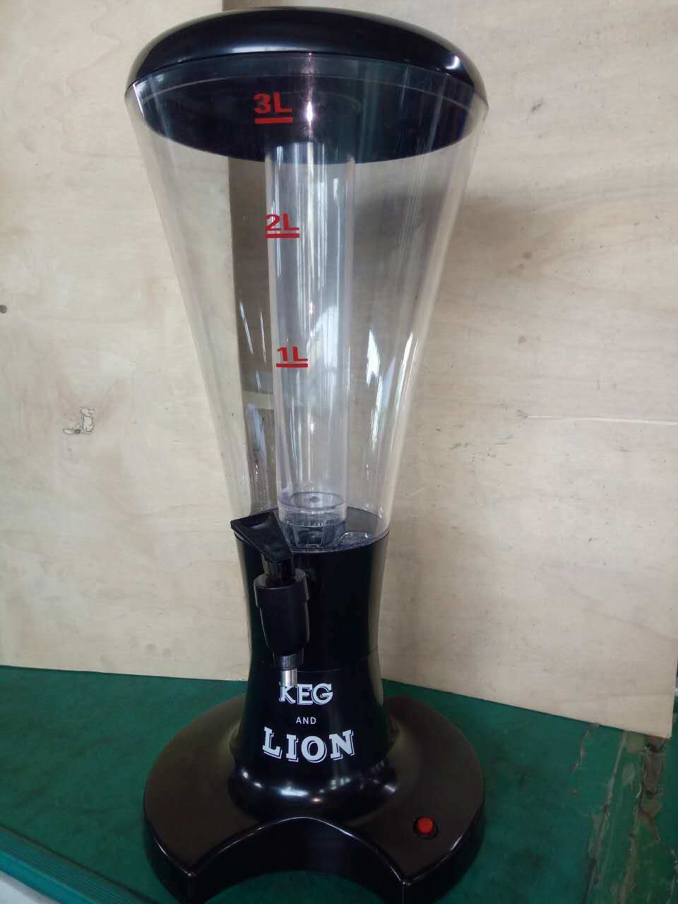 Factory Directly 3L Plastic LED Beer Tower pictures & photos