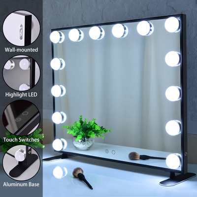 14 Bulbs Makeup Mirror With Bluetooth, What Bulbs For Makeup Mirror