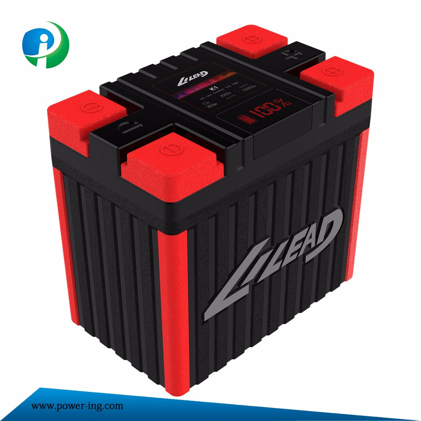 China K1 Light Weight 12v Lithium Ion Battery For Car Audio Short Circuit Repair Series