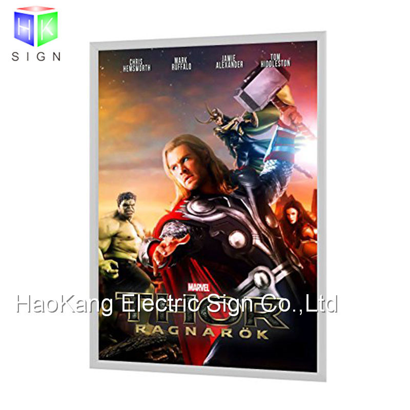 China 27X40 LED Backlit Movie Poster Frames for Wall Mounted Snap ...
