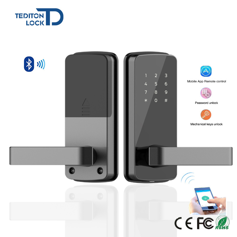 China OEM Korea Style Advanced Security Bluetooth Access Control Locks  Keyless Digital Smart Door Lock   China Smart Door Lock, Keyless Door Lock