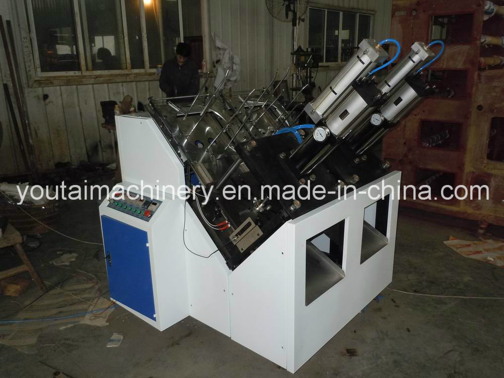 Fully Automatic Paper Plate Forming Machine
