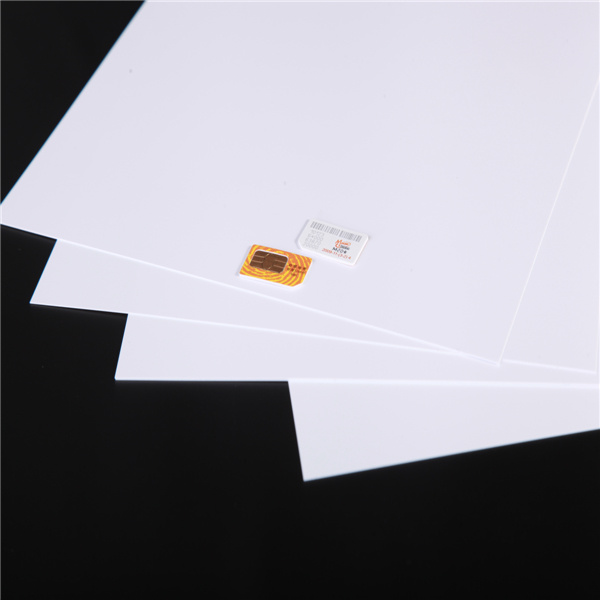 Heat Resistance White Rigid ABS Core Sheet for SIM Card