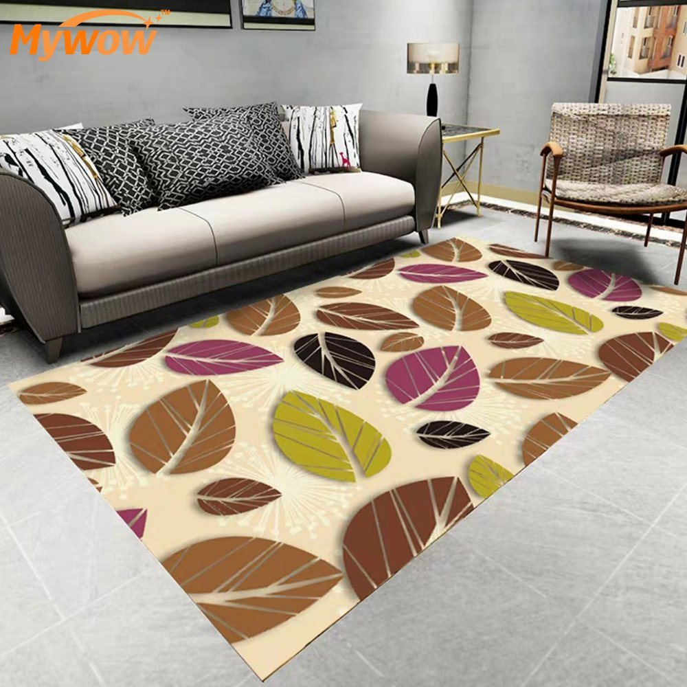China Commerce Usage Polyester Rug