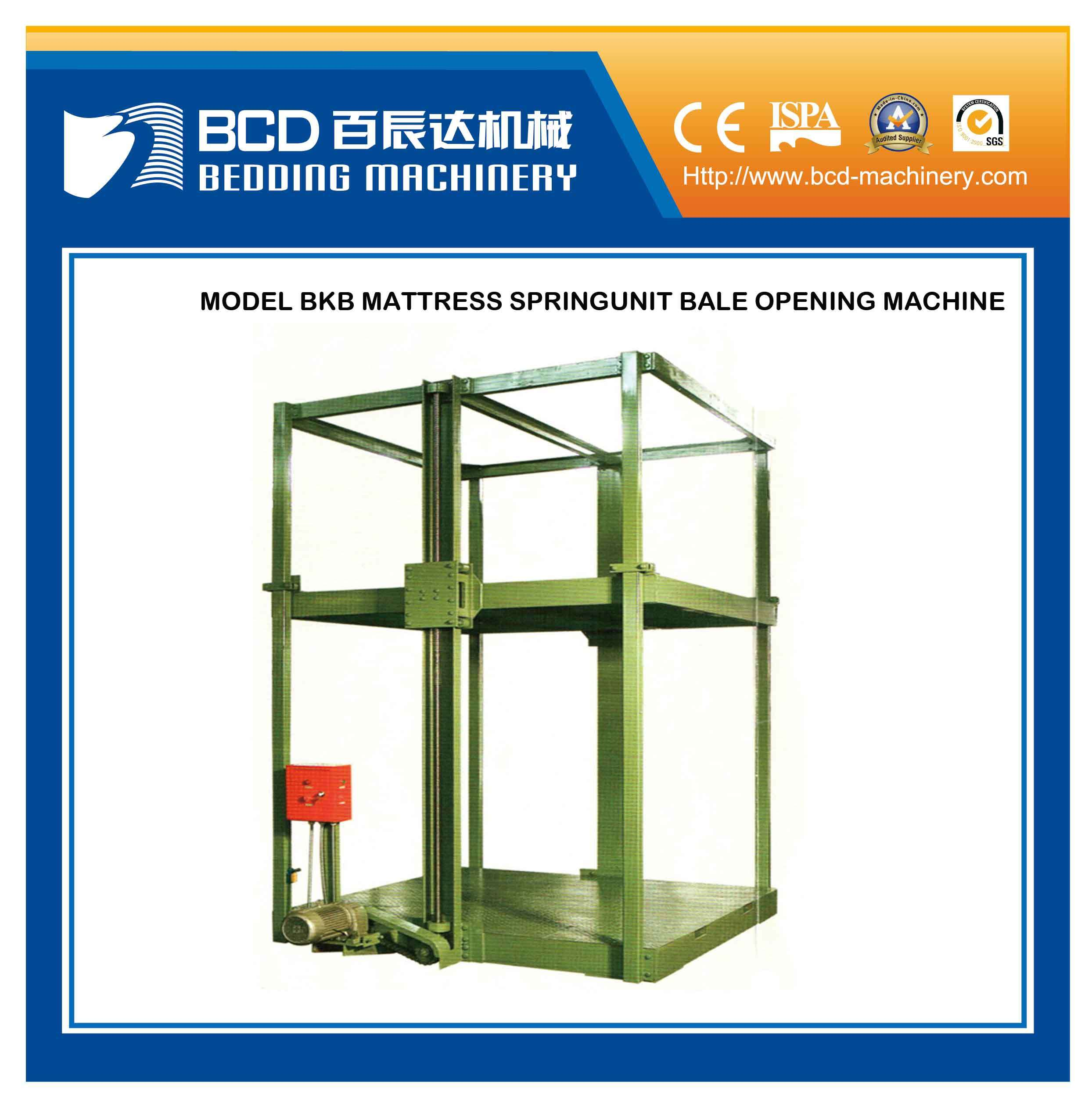 Spring Unit Bale Opening Machine (BKB)