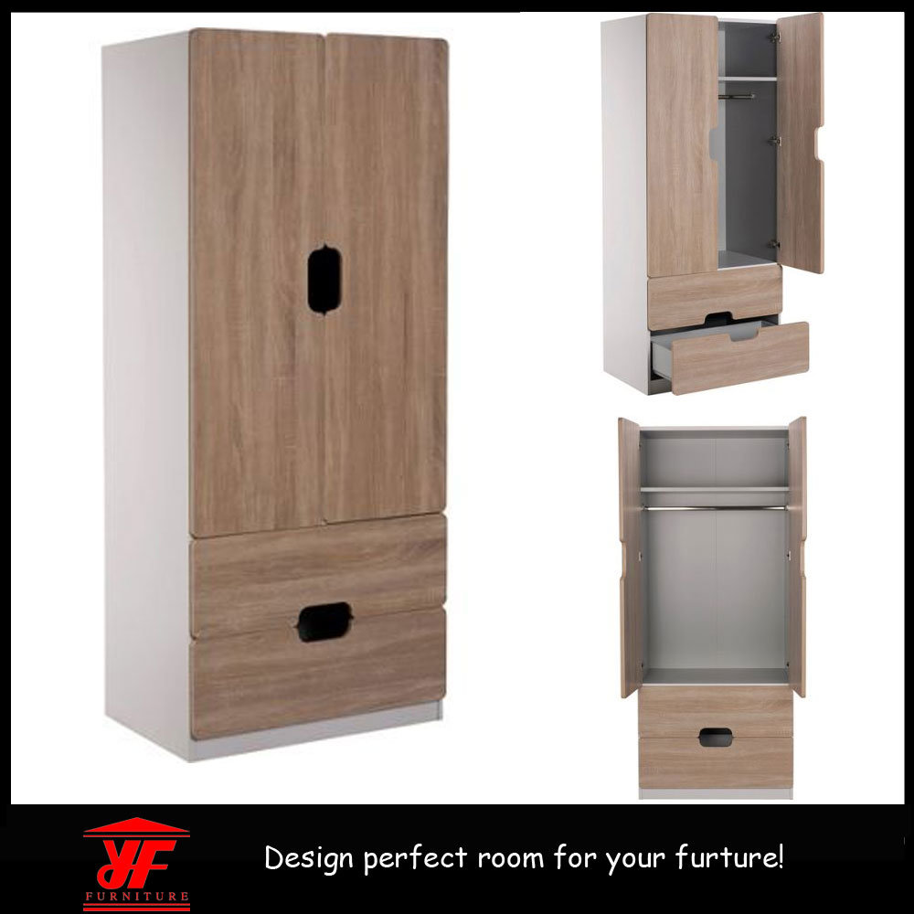 China Home Living Room Furniture Bedroom Wooden Cupboard Design Simple Modern Storage Wardrobe