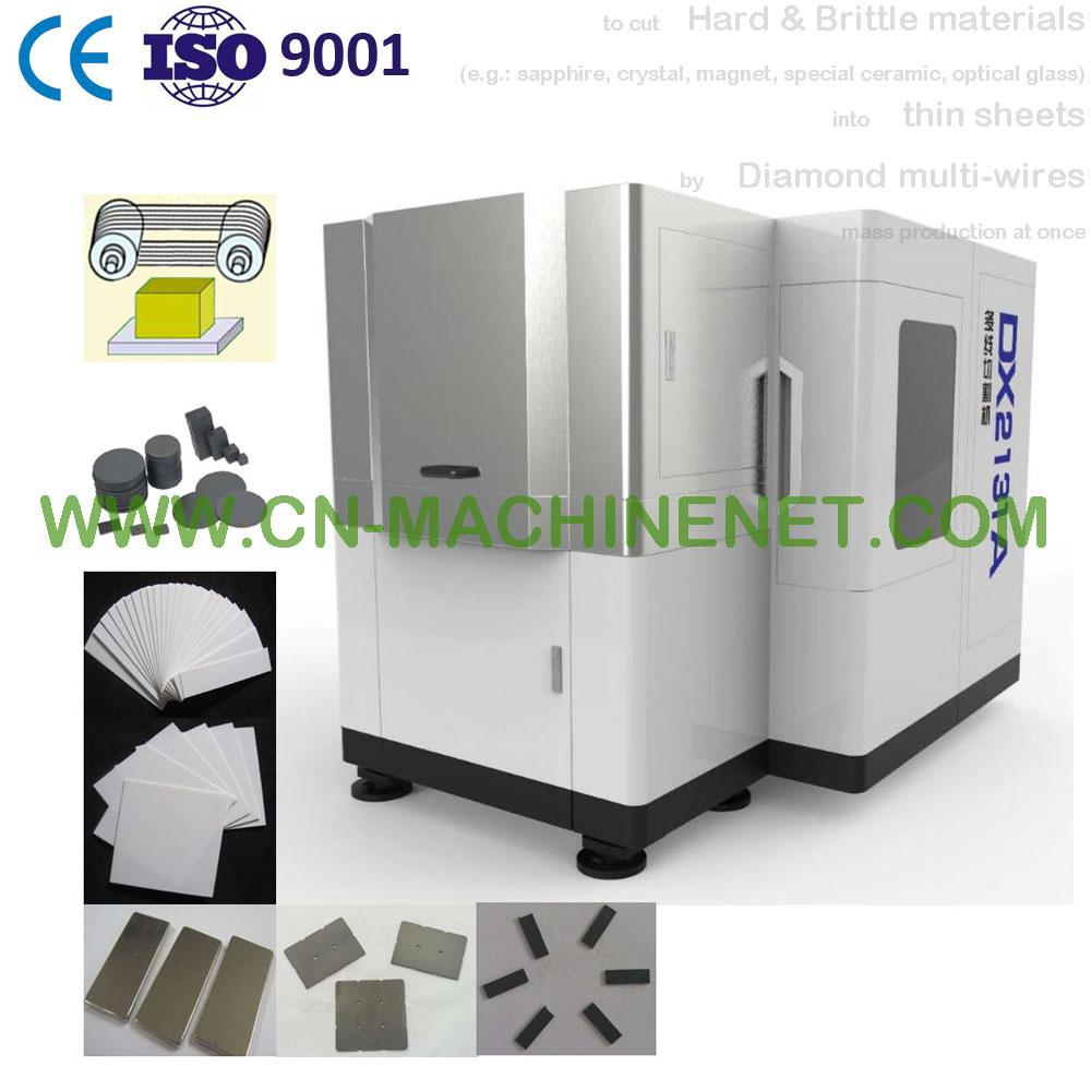 China Automatic (Diamond) Multiwire Saw Precision Cutting Machine to ...