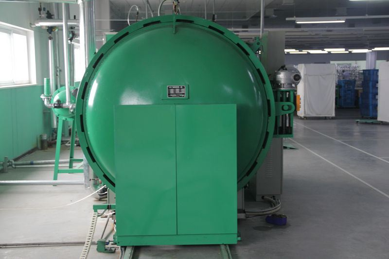 Vacuum Heat Setting Machine