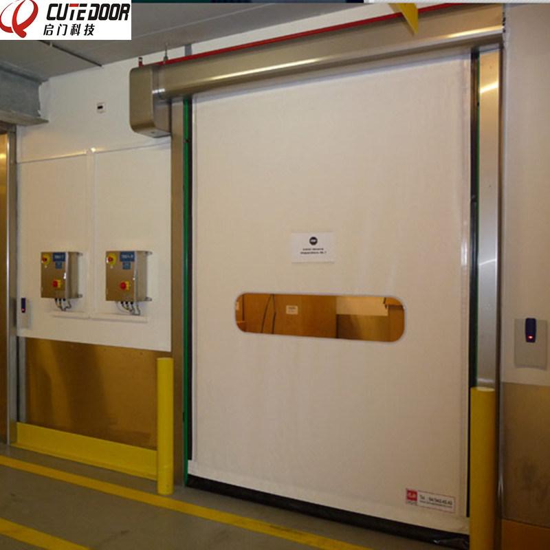 China Reset Zipper Door Self Repairing High Speed PVC Industrial Door - China High Speed Door Automatic Repaired Door & China Reset Zipper Door Self Repairing High Speed PVC Industrial ...