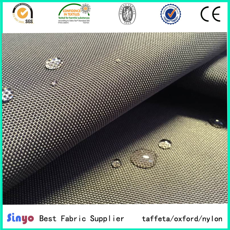 High Quality PU/PVC Coated Waterproof 1680d Polyester Fabric for Bag Luggages pictures & photos