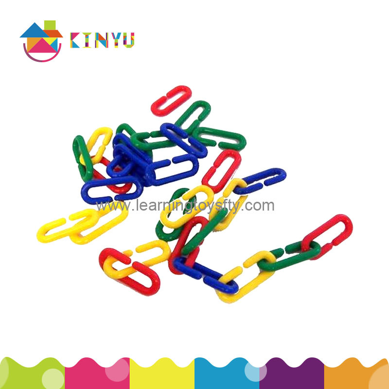 Plastic Sorting and Counting Toy/Plastic Links Chain (K004)