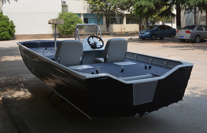 China New Design Aluminum Bass Boat Fishing Boat Outboard Boat for