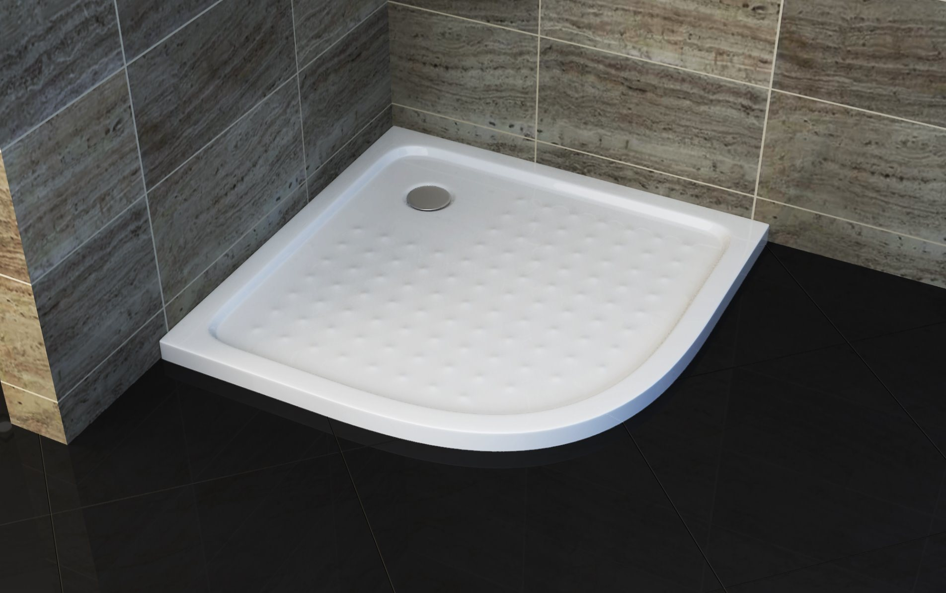 China Bathroom Sector ABS Anti Slip Shower Tray - China Shower Base ...