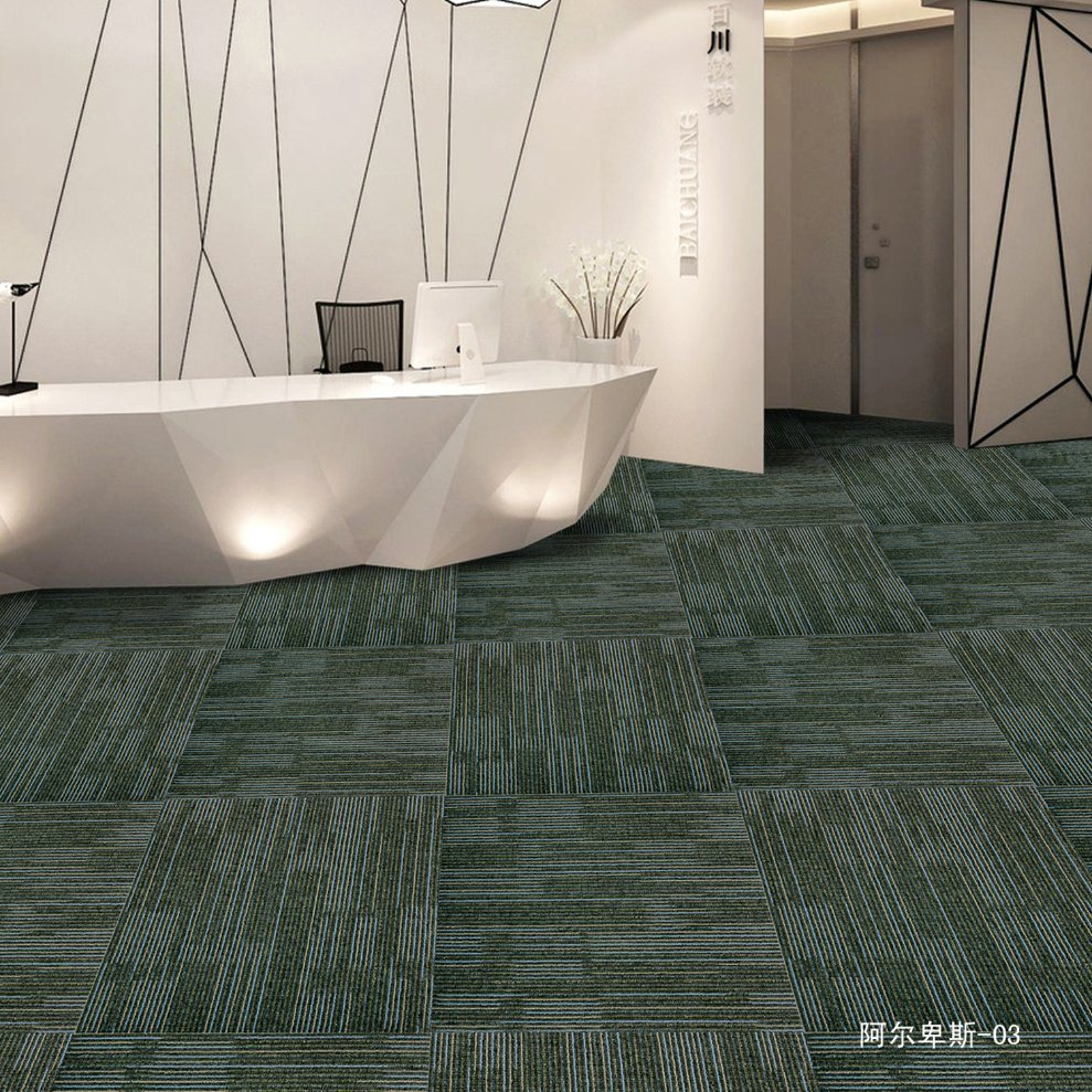 Alps - 1/10 Gauge Office/Hotel/Home Carpet Tile with Eco-Bitumen Backing pictures & photos