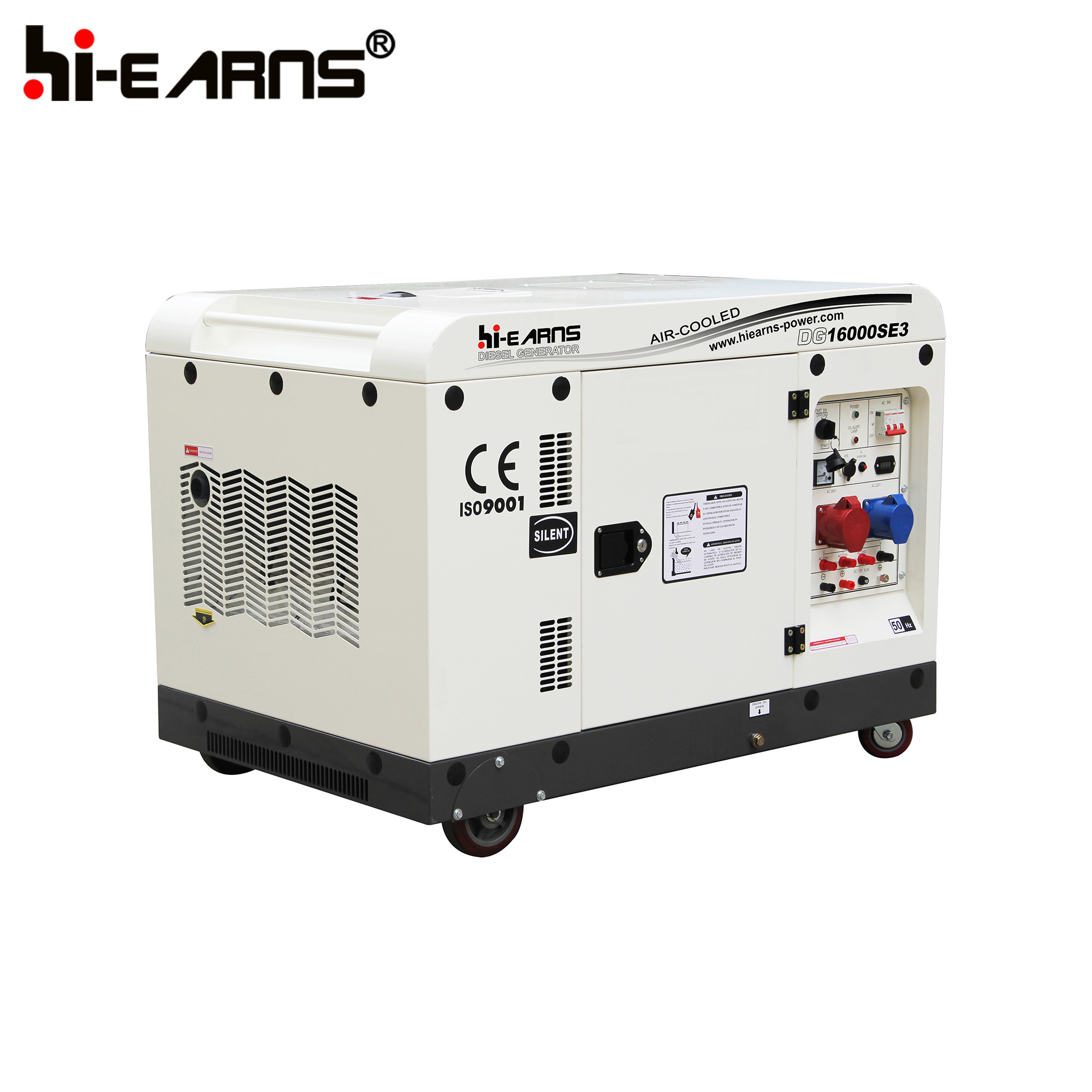 China 12kw Air Cooled Two Cylinder Diesel Generator DG SE