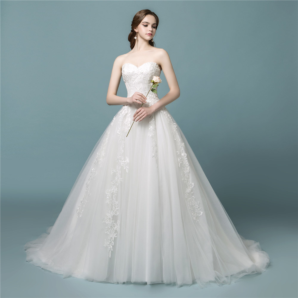 China Amelie Rocky New Tulle 2018 Wedding Gown Bridal Dress - China ...