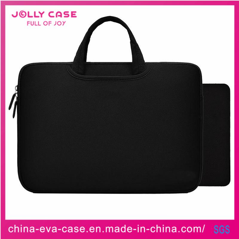 Black Custom Business Las Mens Smart Neoprene Laptop Bag Sleeve