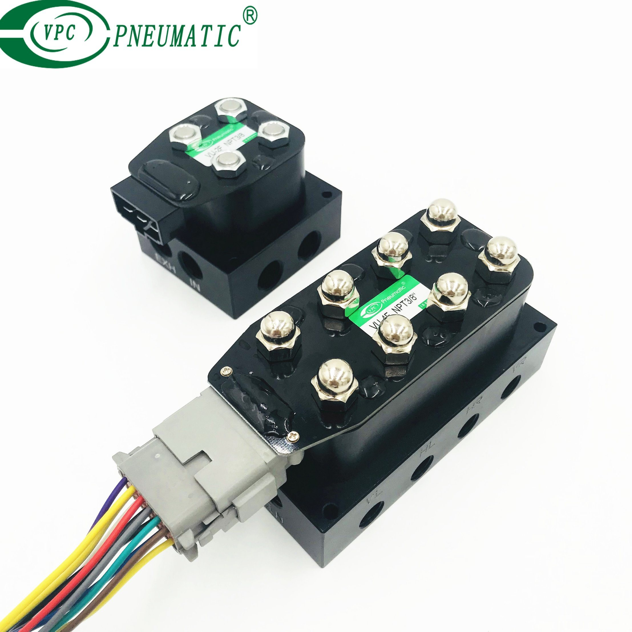 China Accurate Air Vu4 Solenoid Valve Manifold Suspension Psi Wiring Harness Control Accuair Airbagit Valves