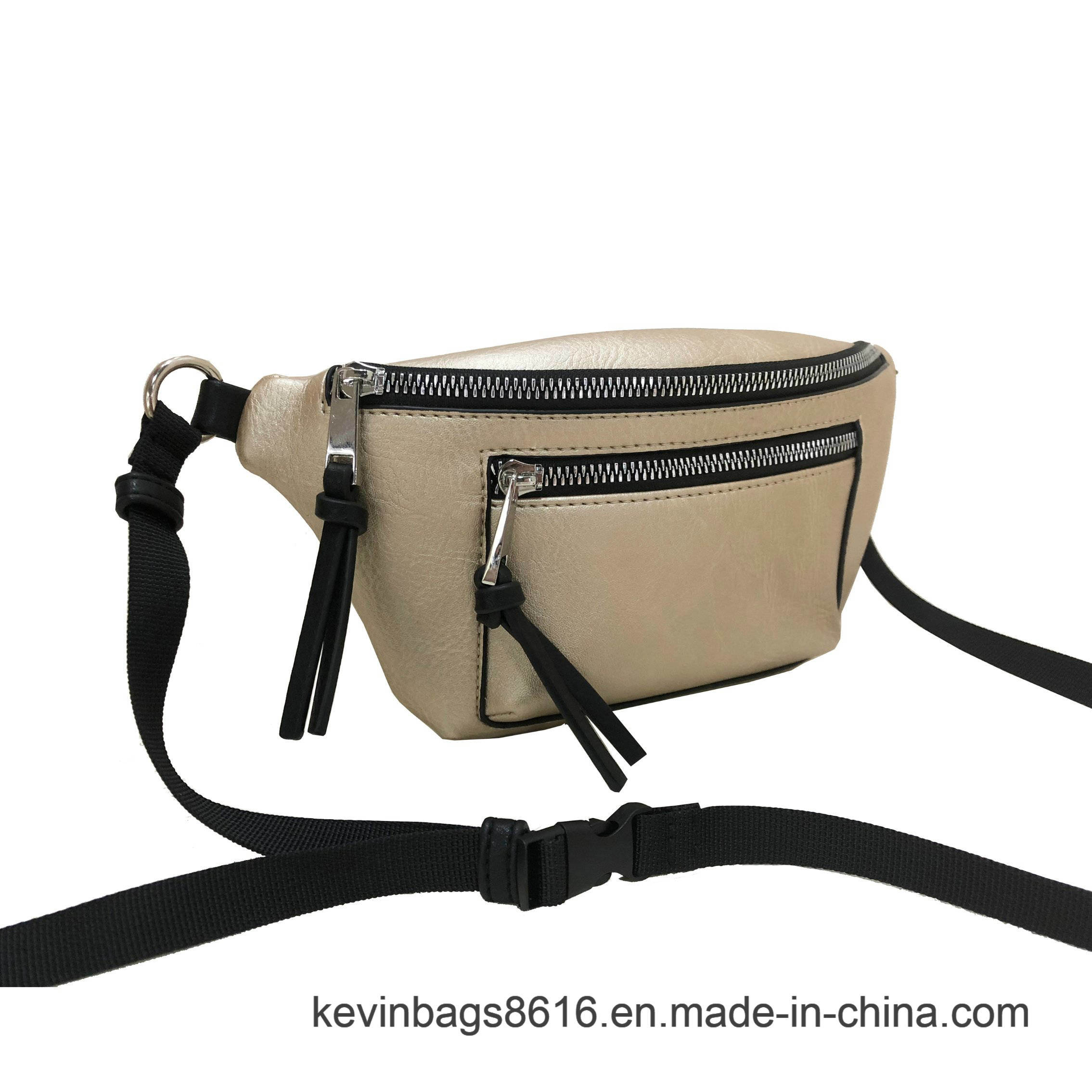 201a381dcb23 China 2019 fashion Elegant PU Webbing Belt Waist Bag Purse Photos ...
