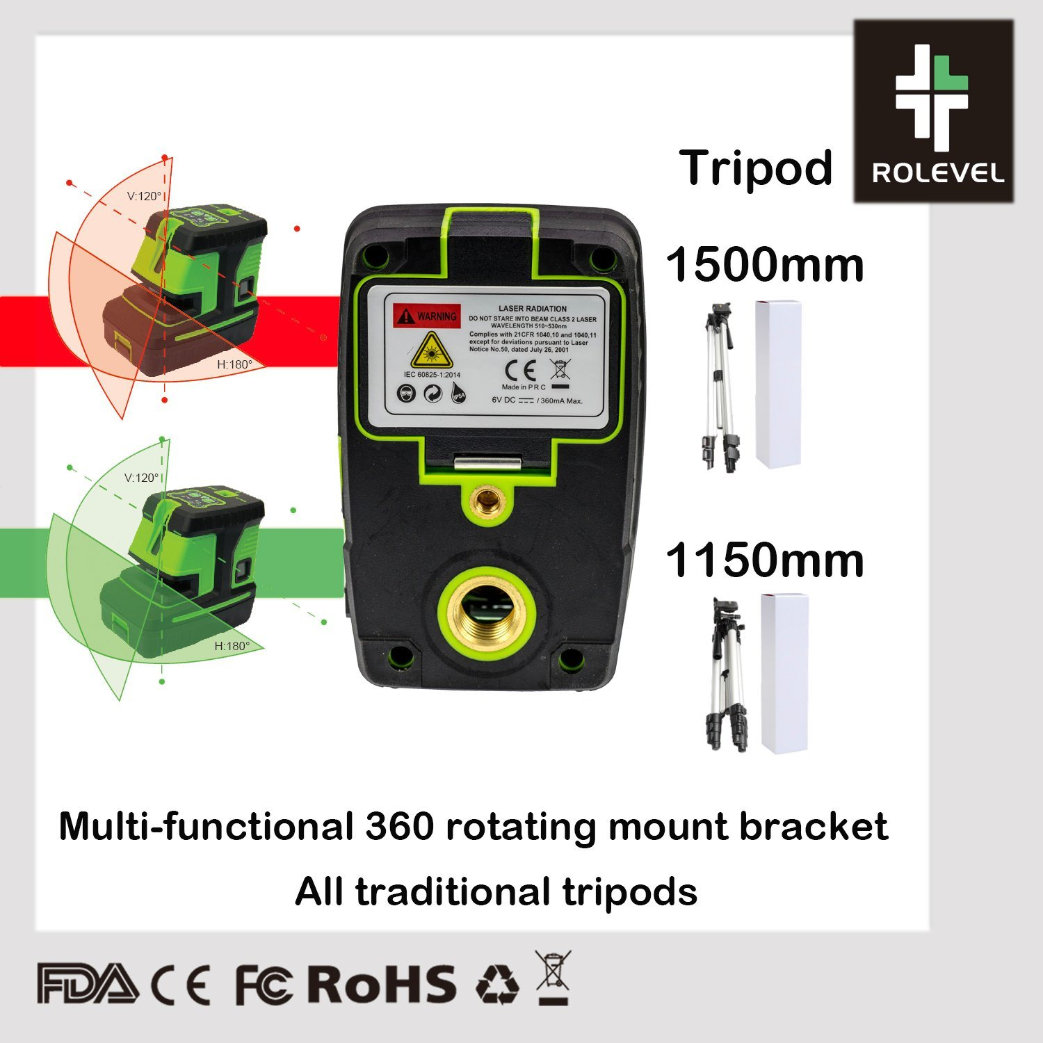 China 12 Lines 3d Green Laser Levels Self Leveling 360 Horizontal And Vertical Cross Super Powerful Green Laser Beam Line Laser Lever China Line Laser Level Crossline Laser Level