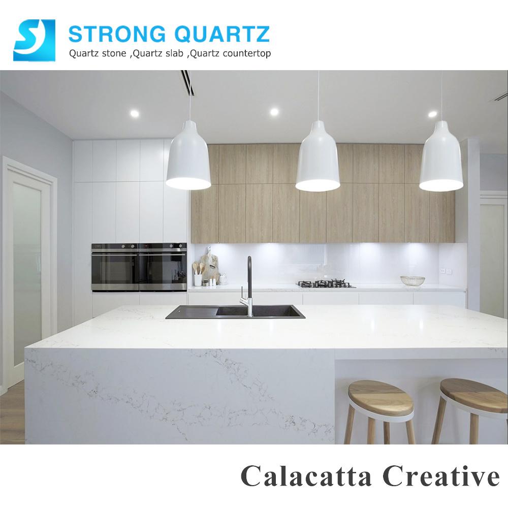 China Calacatta Calacutta Quartz Stone