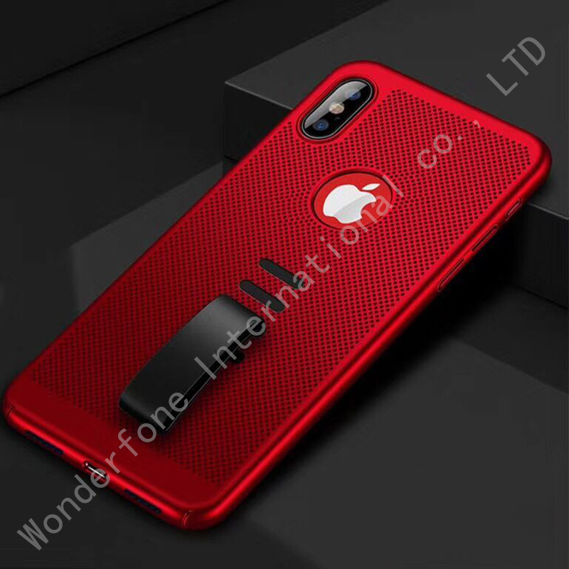 Hard PC Mobile Phone Case with Drop Holder for iPhone pictures & photos