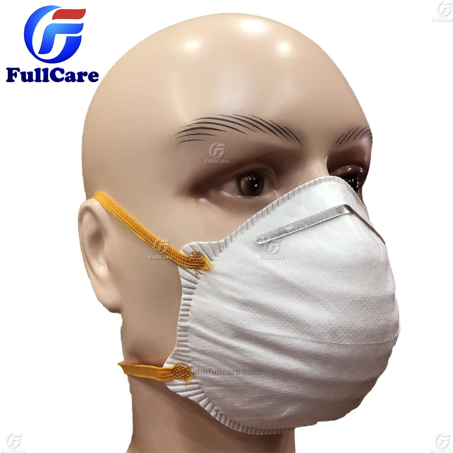 Respirator Ffp2 N95 Disposable Ffp1 Protective Nonwoven Mask Dust En149 Cup Ce Shape Item hot