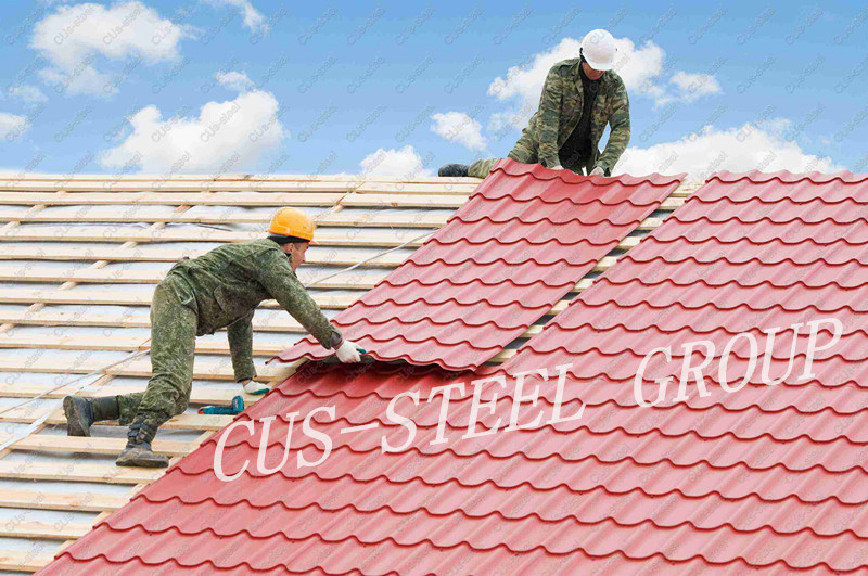 China Colorful Aluzinc Metal Roofing Sheet Pre Painted Galvanized Steel Roof Tile China T Profile Roofing Sheet Corrugated Roofing Sheet