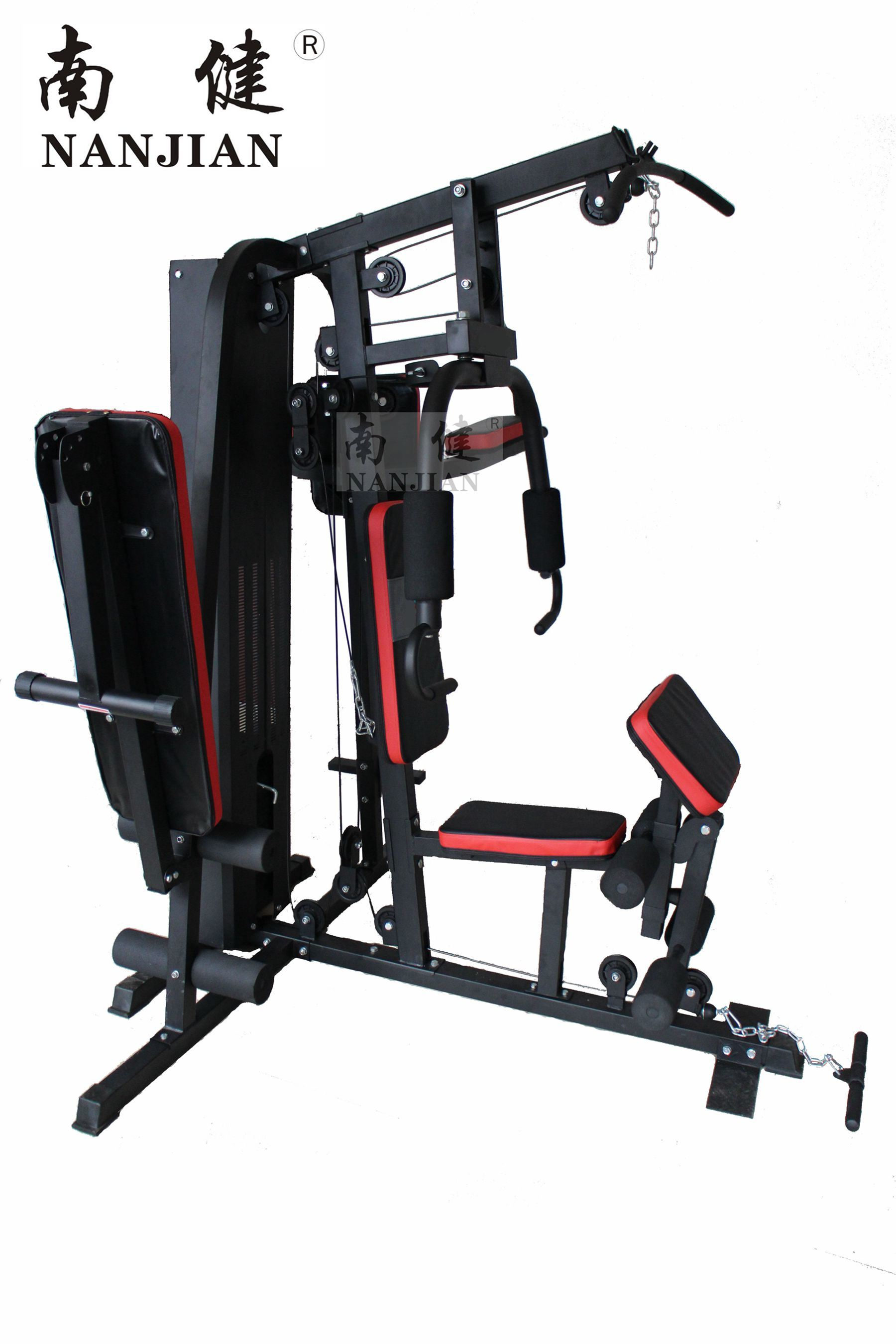 Nanjian Three Station Home Gym/Multi Gym/Home Gym with 150lbs Weight Plate