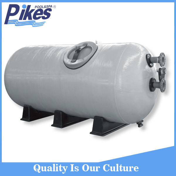 Horizontal Industrial Sand Filter, Large Sand Filter