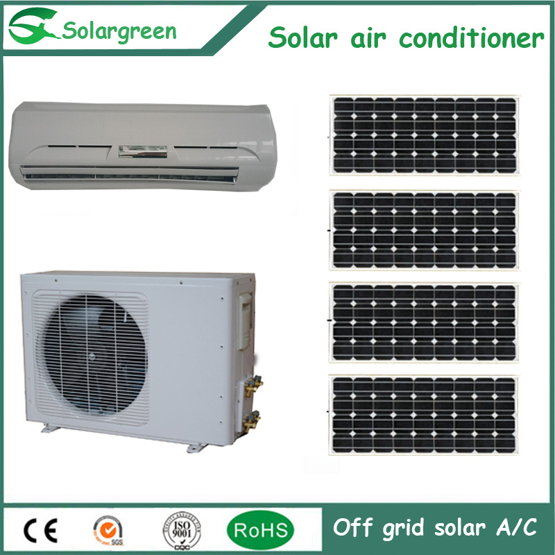 9000BTU Solar Panel Air Conditioning with Ce, CB, RoHS Certificate pictures & photos