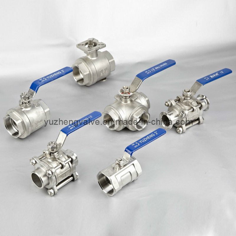 Stainless Steel Inner Thread 1PC Ball Valve with CE Certificate