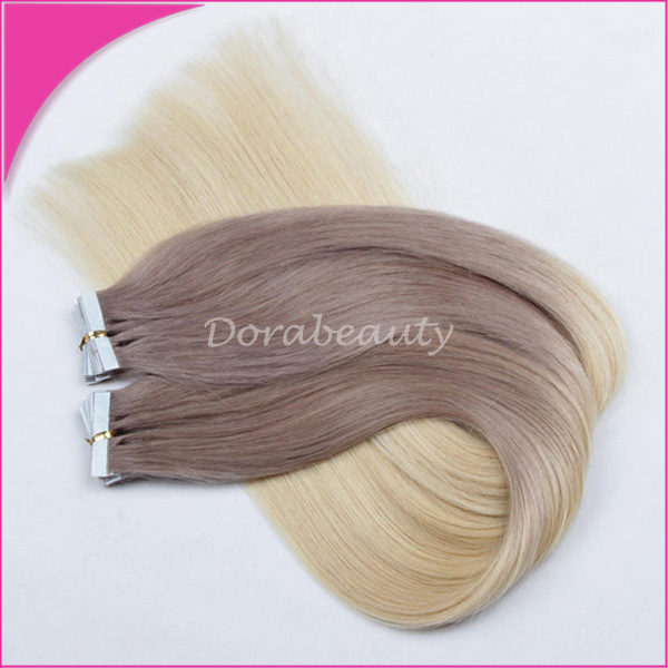 China Remy Hair Seamless Pu Skin Weft Tape Hair Extension China