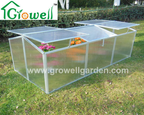 China Aluminium Cold Frame Mini Greenhouse for Young Plants Growing ...