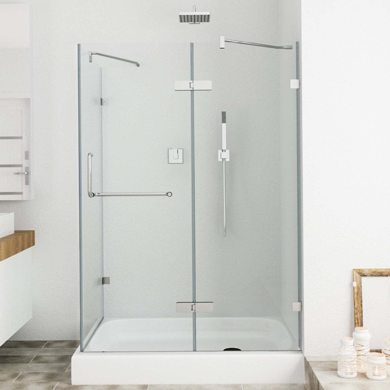 China Frameless Corner Hinged Shower Enclosure Shower Screen