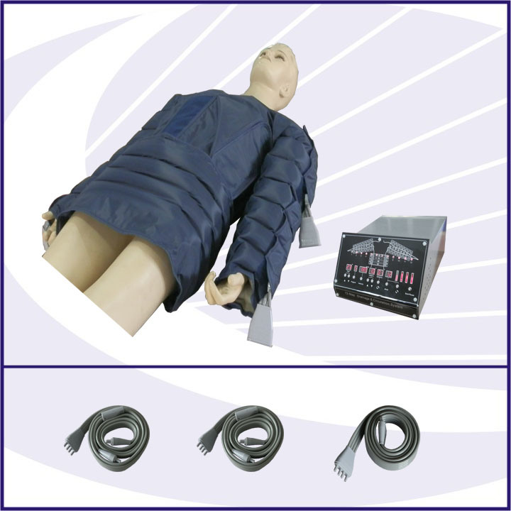 Air Pressure Body Slimming Machine with Suit for Upper Body