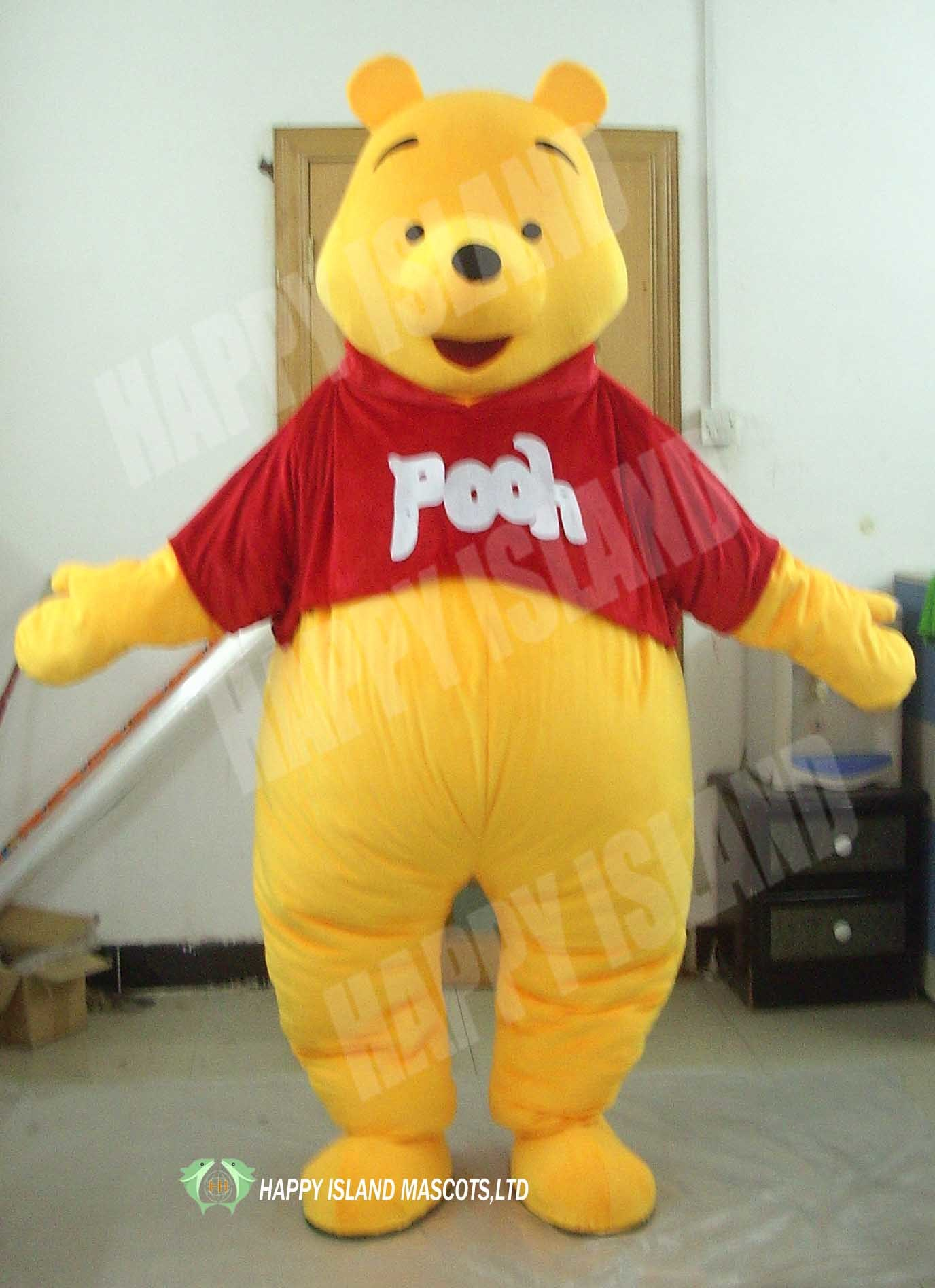 9881fac9d406 China 2012 Winnie The Pooh Costume for Adults (HI0102009) - China Winnie  The Pooh Costume for Adults